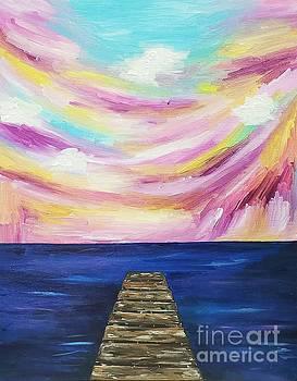 King's Beach at Sunset by Ariana Dagan