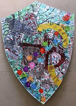 Kintu and Nambi Kintus Tasks Shield  by Gloria Ssali