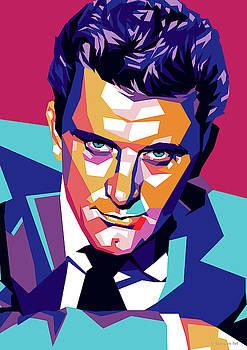 Kirk Douglas by Stars-on- Art