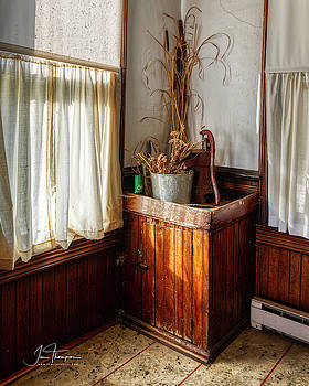 Kitchen Water Pump by Jim Thompson