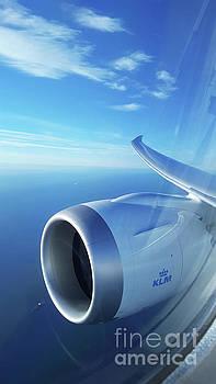 KLM Boeing 787 GE Jet Engine by Pictures Over Stillwater