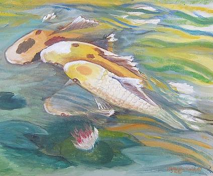 Koi Sisters by Lilly Ramphal