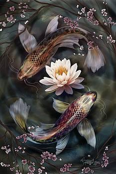 Koi tranquility  by Desiree Mattingly