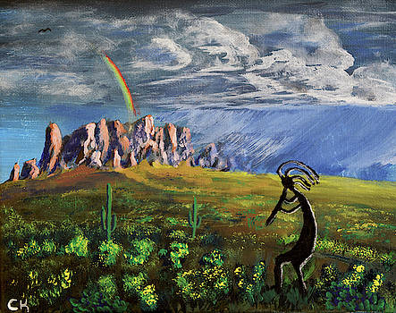Chance Kafka - Kokopelli and the Superstition Mountains