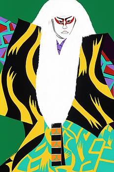 Kabuki Lion Dancer by Synthia SAINT JAMES