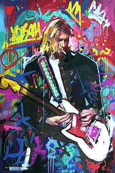 Kurt Cobain Live by Richard Day