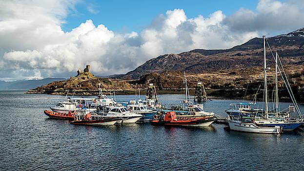 Kyleakin Harbor, Isle of Skye by Holly Ross