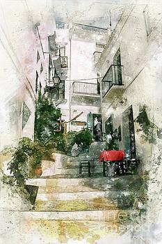La mesa roja, Frigliana by John Edwards