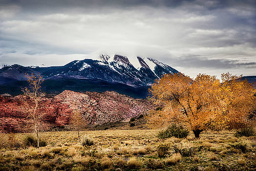 La Sal Mountain Range by David Morefield