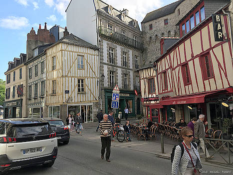 la Vie Quotidienne Vannes France by Michael Parent