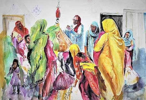 Labourious Pakistan by Khalid Saeed