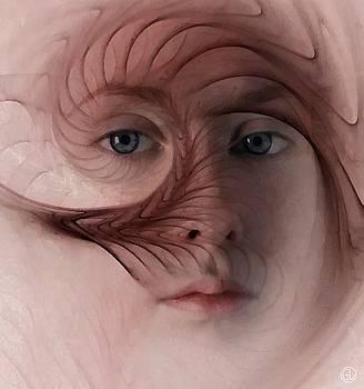 Lady in feather by Gun Legler
