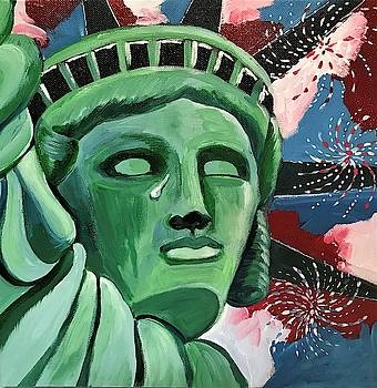 Lady Liberty by Roseann Amaranto