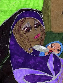 Lady With Child by Elinor Helen Rakowski