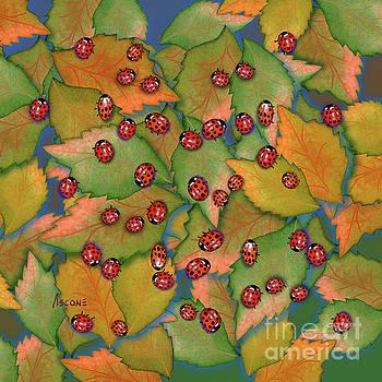 Ladybugs by Teresa Ascone