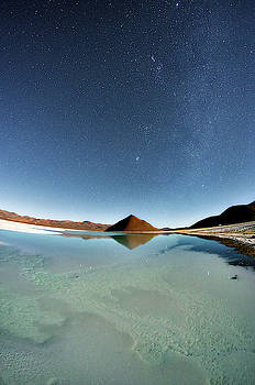 Lagoon at night by Daniele Gasparri