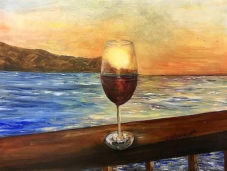Lahaina Sunset by Chuck Gebhardt