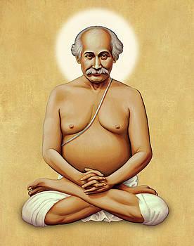 Lahiri Mahasaya on Gold by Sacred Visions