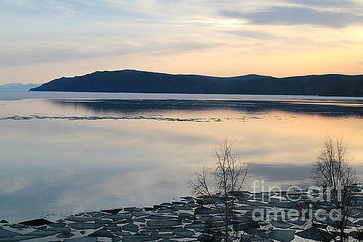 Lake Baikal in Spring by Inessa Williams