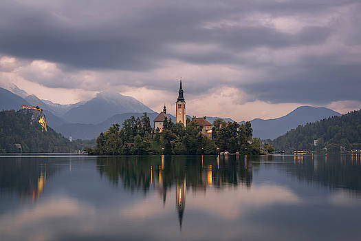 Lake Bled by Ludwig Riml
