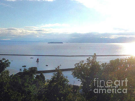 Felipe Adan Lerma - Lake Champlain Early Afternoon Sunshine Enhanced