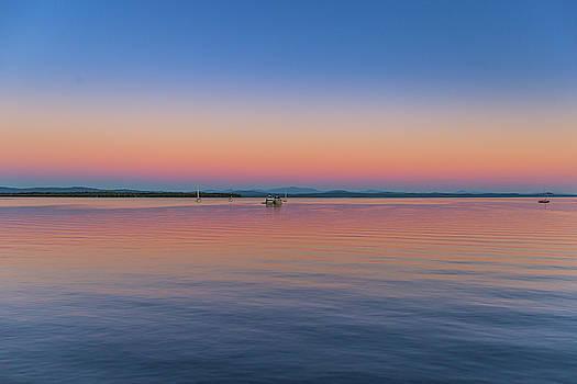 Lake Champlain Evening by Tim Kirchoff