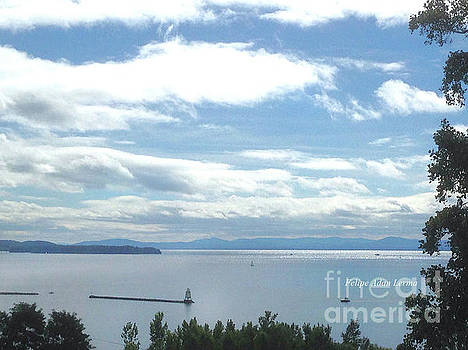 Felipe Adan Lerma - Lake Champlain Mid-day Sunshine Enhanced