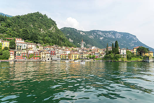 Lake Como Gems - Charismatic Varenna on Lago di Como in Lombardy Italy  by Georgia Mizuleva