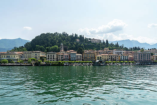Lake Como Gems - Famous Bellagio on Lago di Como in Lombardy Italy  by Georgia Mizuleva