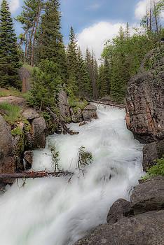 Lake Creek Falls by Barbara Hayton