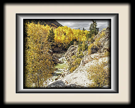 Lake Creek in Autumn by Richard Risely