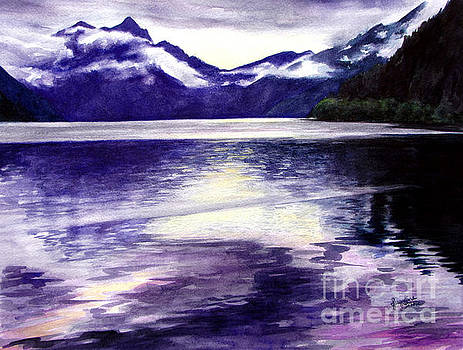 Lake Crescent by Jacqueline Tribble