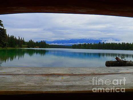 Lake Edith Jasper National Park Alberta Canada by Art Sandi