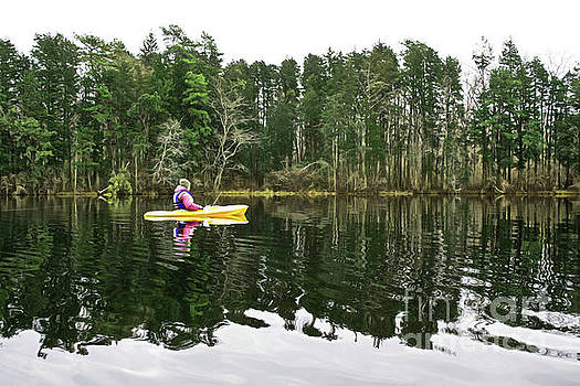 Lake Fishing by Margaret Koc