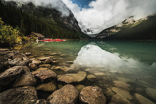 Lake Louise in the Canadian Rockies by Kamran Ali