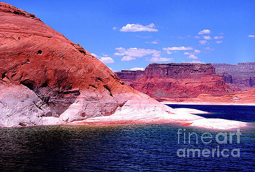 Lake Powell Glen Canyon  by Thomas R Fletcher