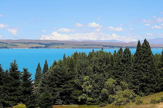 Lake Pukaki, New Zealand by Sarah Lilja
