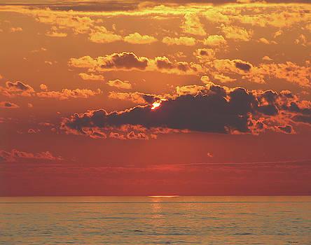 Lake Superior Sunrise by Alison Gimpel
