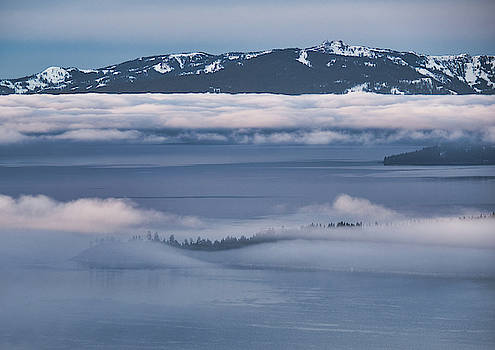 Lake Tahoe Inversion by Martin Gollery