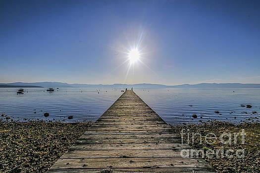 Lake Tahoe West Shore Sun Rise by Eddie Hernandez