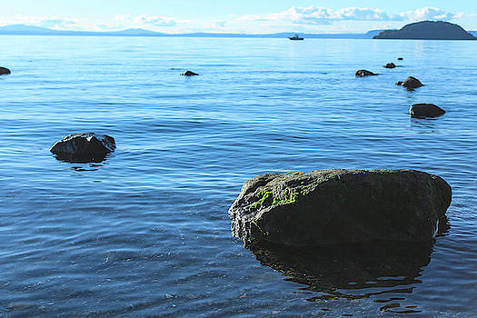 Lake Taupo by Leslie Trotter