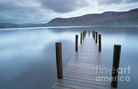 Lakeland jetty by Colin Roberts
