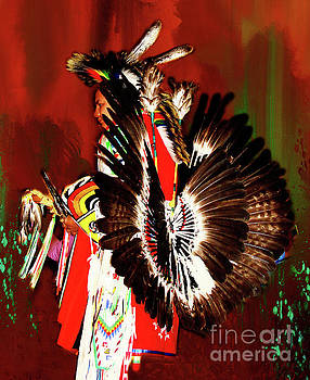 Lakota Sioux Dancer by Linda Cox