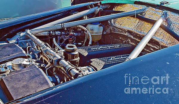 Lamborghini engine ROLEX_080 by Howard Stapleton