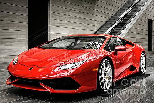 Lamborghini Huracan by Brad Allen Fine Art