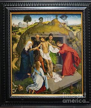 Wayne Moran - Lamentation of Christ Rogier van der Weyden Uffizi Gallery Florence Italy