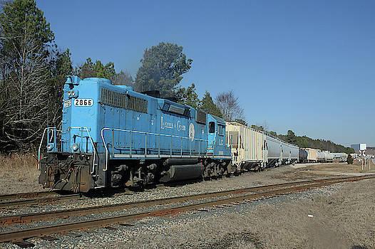Lancaster Chester Railroad 2866 Color 21 by Joseph C Hinson