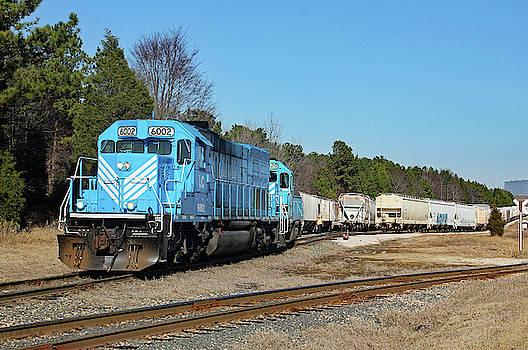 Lancaster Chester Railroad 6002 Color  by Joseph C Hinson