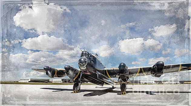 Lancaster Engine Test 2 by Brad Allen Fine Art