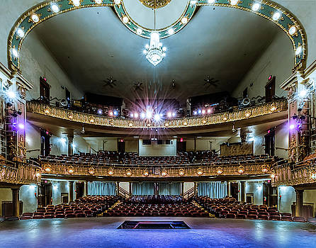Landers Theatre Stage View by Allin Sorenson